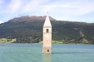 04-Kirchturm im Reschensee